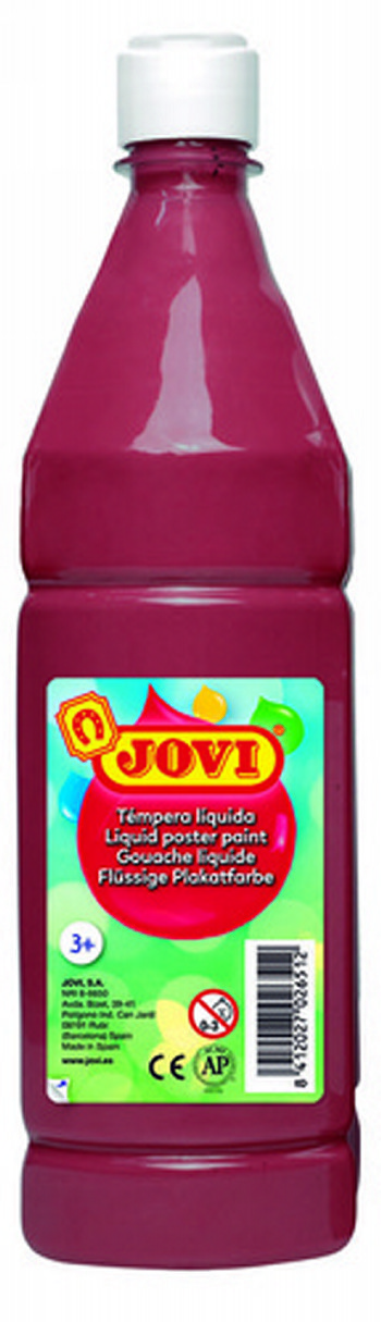 TEMPERA LIQUIDA JOVI ESCOLAR 1000 ML MARRON