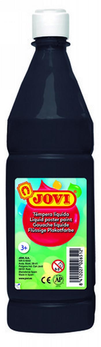 TEMPERA LIQUIDA JOVI ESCOLAR 1000 ML NEGRO