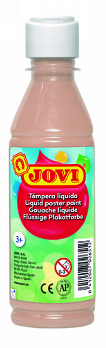 TEMPERA LIQUIDA JOVI ESCOLAR 250 ML COLOR CARNE