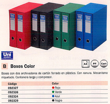 Comprar  092329 de Unisystem online.