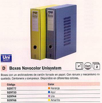 Comprar Modulos de archivadores 929733 de Unisystem online.
