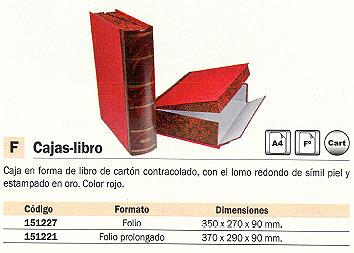 PARDO CAJA LOMO 30 MM A4 MARRÓN 2370