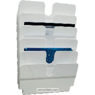 DURABLE EXPOSITOR FLEXIPLUS A4 HORIZONTAL BLANCO 1700014011