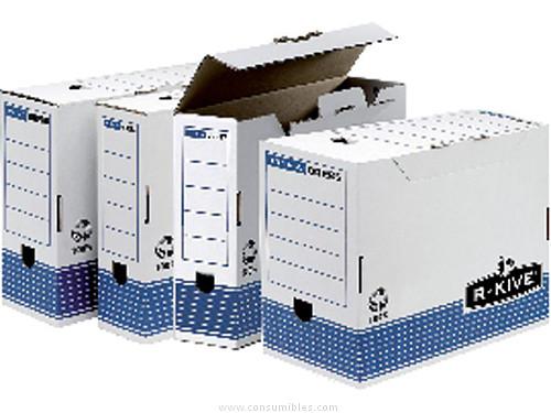 Archivo definitivo ENVASE DE 10 UNIDADESFELLOWES ARCHIVO DEFINITIVO SYSTEM A4 LOMO 200MM CIERRE CON LENGÜETA CAJAS 20567