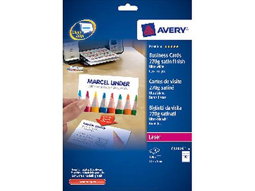 Comprar Tarjetas de visita doble cara 285051 de Avery online.