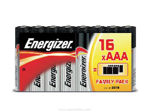 ENERGIZER PILA CLASICA BLISTER 16UD LR03/AAA 1,5V 628926