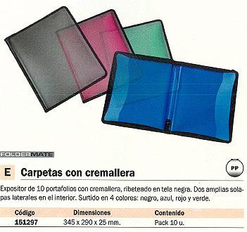 Comprar Carpetas con cremallera 151297 de Foldermate online.