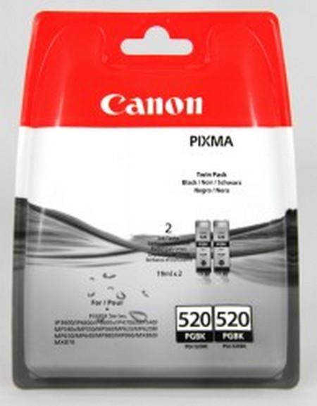 Cartuchos de tinta CARTUCHO DE TINTA NEGRO PACK 2 CANON PGI-520BK
