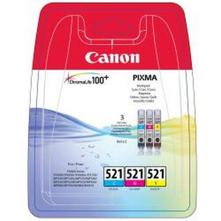 Cartuchos de tinta CARTUCHO DE TINTA TRICOLOR 30 ML CANON CLI-521C-M-Y