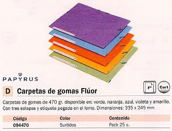 Comprar Carpetas con gomas carton 094470 de Papyrus online.