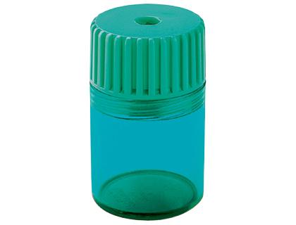 Plastico ENVASE DE 10 UNIDADES SACAPUNTAS MOR 914 -PLASTICO 1 USO CON DEPOSITO -CUCHILLA FIJADA POR PRESION