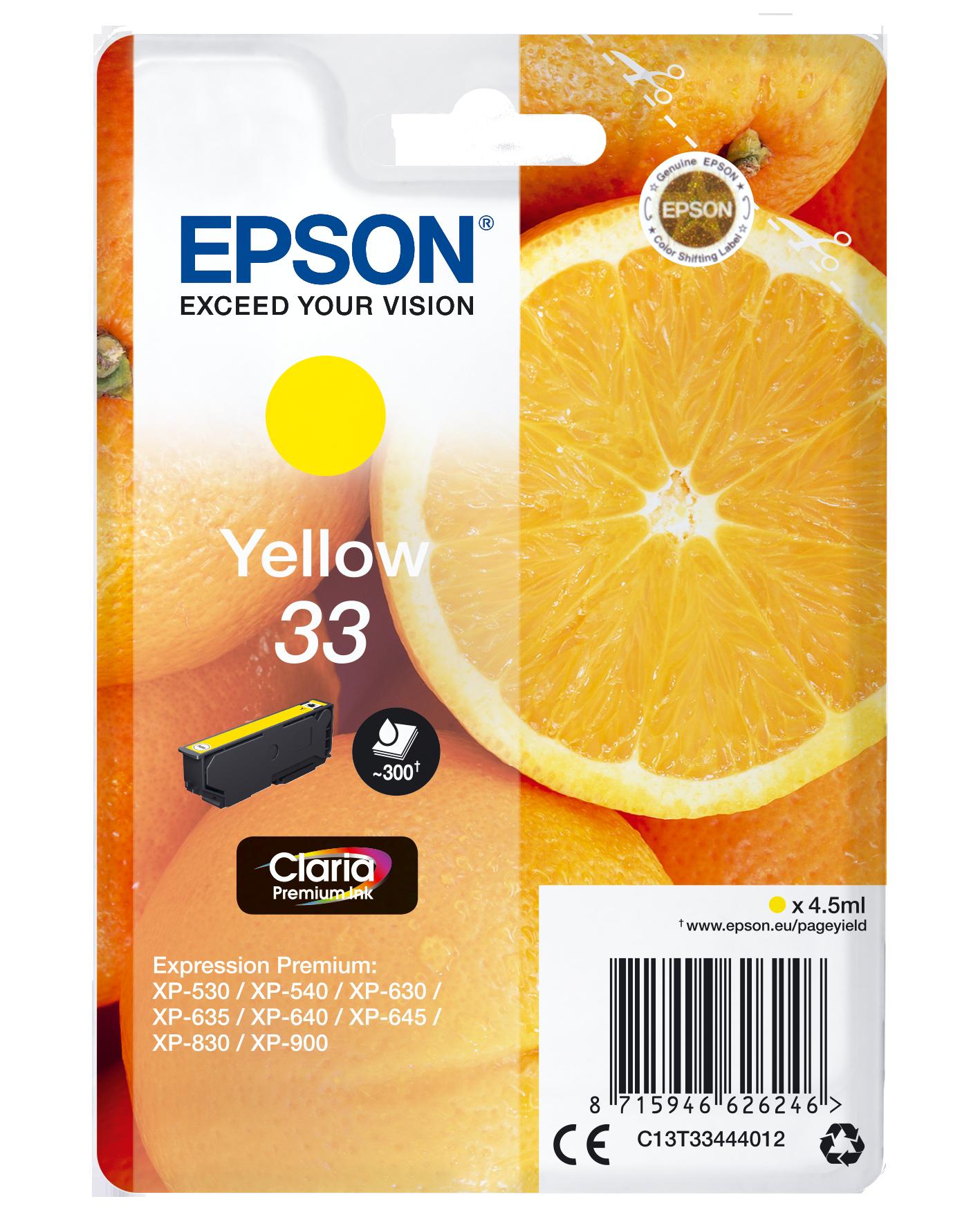 Comprar Cartucho de tinta C13T33444012 de Epson online.