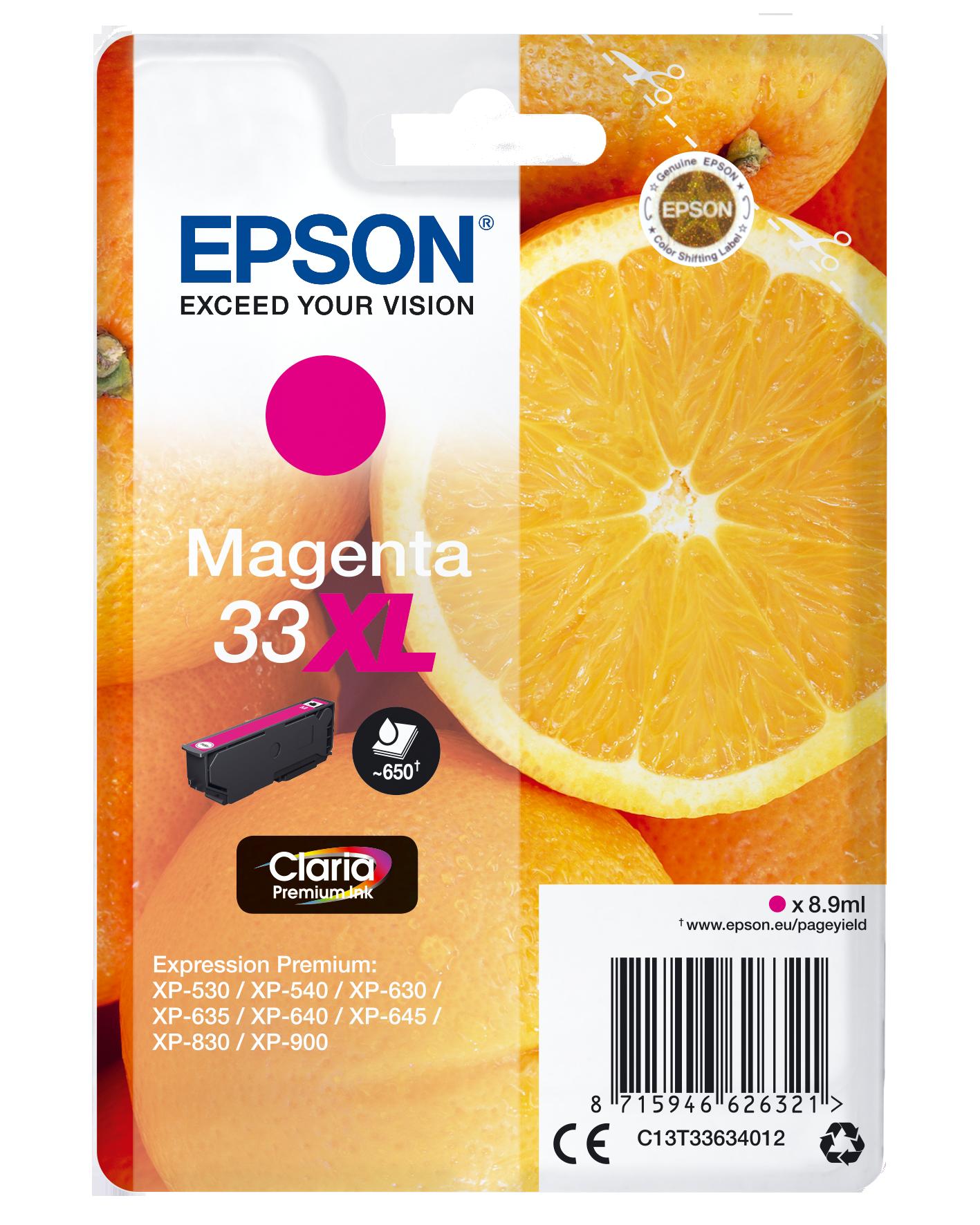 Comprar Cartucho de tinta C13T33634012 de Epson online.