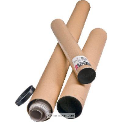 Tubos de carton UNIPAPEL TUBO ENVÍO A1/A0 80X1070 CARTON 298107
