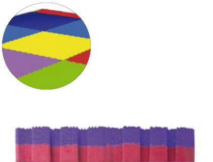 Puzzles puzzle escolar Sumo Didactic bicolor 100X100X2 cm lila-rojo