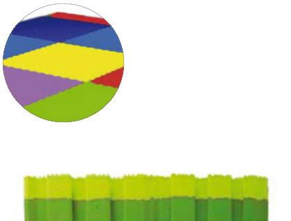Puzzles puzzle escolar Sumo Didactic bicolor 100X100X2 cm pistacho-verde