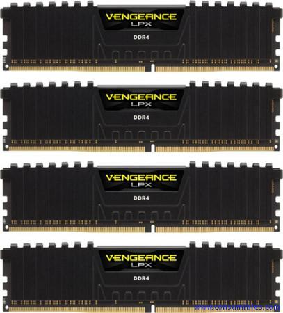 Comprar  CMK64GX4M4B3200C16 de Corsair online.