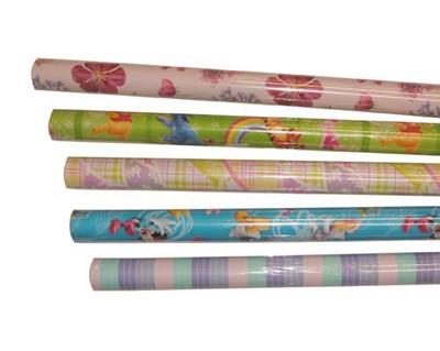 Rollos papel regalo ENVASE DE 50 UNIDADESUNIPAPEL ROLLO PAPEL REGALO 2X0,7 M WALDISNEY 29502D