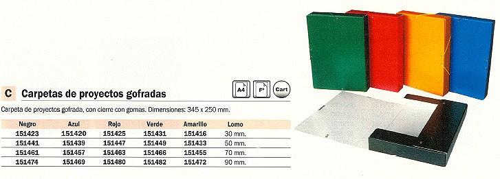Comprar Carpetas proyecto gofradas 151420 de Novaline online.
