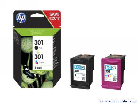 Comprar Value pack cartucho de tinta N9J72AE de HP online.