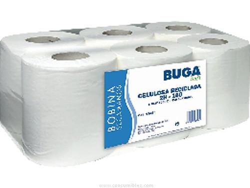 Higiene BUNZL BOBINAS SECAMANOS PACK 6 UD 450 SERVICIOS 2 CAPAS 17483