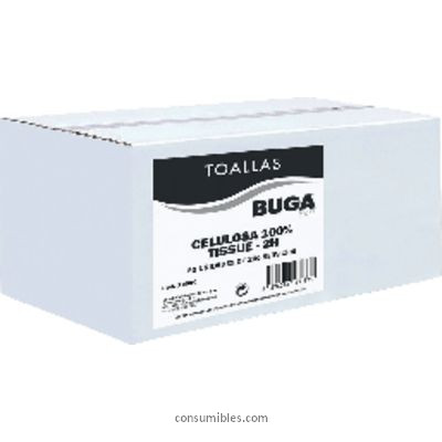 BUGA TOALLAS SECAMANOS Z PACK 20 UD 240X205MM 2 CAPAS 15830
