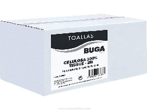 BUGA TOALLAS SECAMANOSV PACK 20 UD 240X205 MM 2 CAPAS 26991