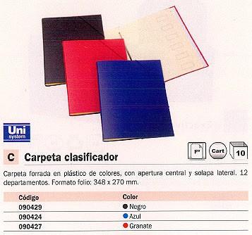 Comprar Clasificadores 090427 de Unisystem online.