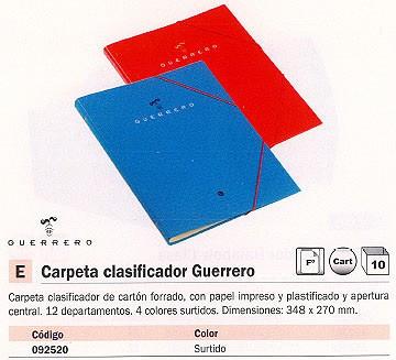 Comprar Clasificadores 092520 de Guerrero online.