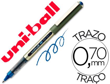 ENVASE DE 12 UNIDADES UNI-BALL ROLLER UB-157 AZUL 0,7 MM UNIDAD