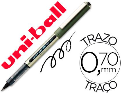ENVASE DE 12 UNIDADES UNI-BALL ROLLER UB-157 NEGRO 0,7 MM UNIDAD
