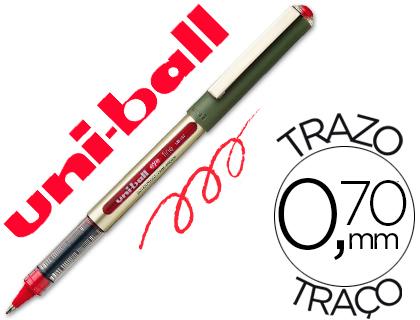 ENVASE DE 12 UNIDADES UNI-BALL ROLLER UB-157 ROJO 0,7 MM UNIDAD