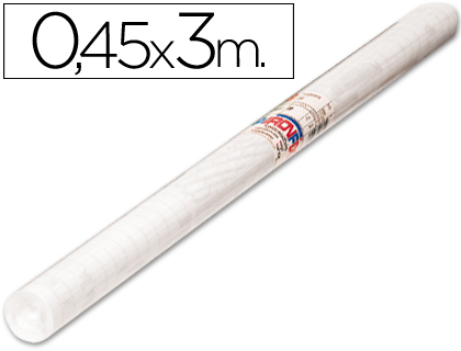 Rollos adhesivos AIRONFIX ROLLO ADHESIVO AIRONFIX TRANSPARENTE REMOVIBLE 69614 ROLLO 0,45 X 3MT