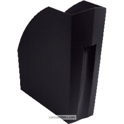 ENVASE DE 3 UNIDADES EXACOMPTA REVISTERO ECOBLACK A4 PLUS 292X110X320 MM NEGRO 180014D