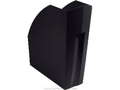 Revisteros ENVASE DE 3 UNIDADESEXACOMPTA REVISTERO ECOBLACK A4 PLUS 292X110X320 MM NEGRO 180014D