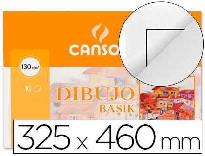 Din A3 plus CANSON PAPEL DIBUJO BASIK DIN A3+ 32,5X 46,0 CMS CON RECUADRO EN MINIPACKS DE 10 HOJAS
