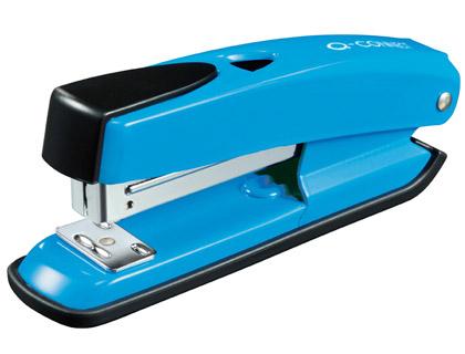 Grapadoras de sobremesa GRAPADORA Q-CONNECT KF02151 PLASTICO ABS AZUL -CAPACIDAD 20 HOJAS