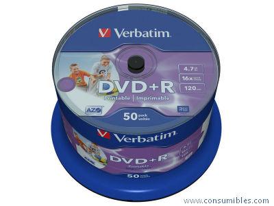 Comprar DVD+R 318965 de Verbatim online.