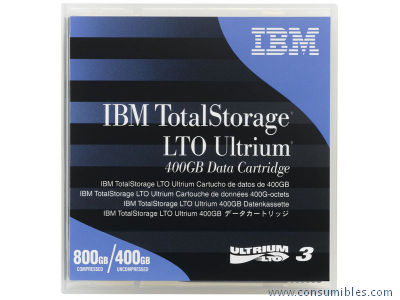 CARTUCHO DE DATOS LTO ULTRIUM DE 400 GB 24R1922