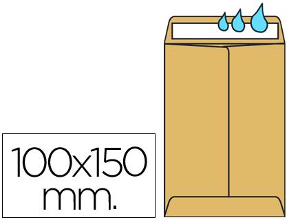Sobres de burbujas - Papel de colores LIDERPAPEL BOLSA N.0 CREMA SALARIOS 100X150MM ENGOMADO CAJA DE 500 UNIDADES