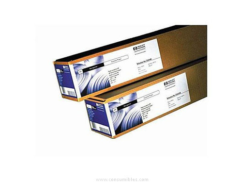 PAPEL COATED 90 GRAMOS-M2 A0 ROLLO 45 7M HP
