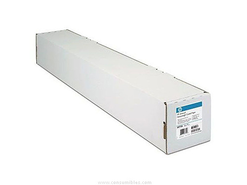 PAPEL BLANCO BRILLANTE A1 594 MM X 457M 90 GRAMOS-M2 HP