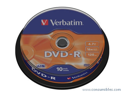 Comprar DVD+R 319760 de Verbatim online.
