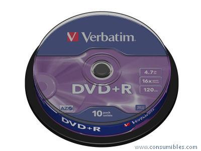 Comprar DVD+R 43498 de Verbatim online.