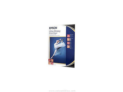 ULTRA GLOSSY FOTOGRAFICO PAPER DIN A4 15 HOJAS EPSON S041927