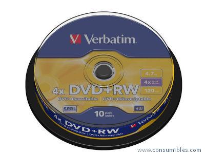 Comprar DVD+RW 321522 de Verbatim online.