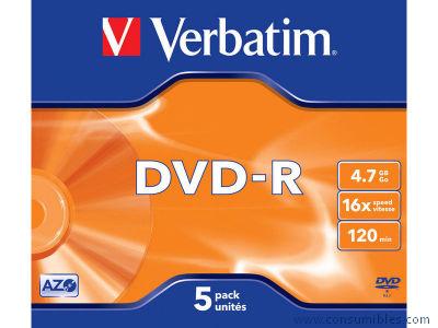 Comprar DVD+R 322450 de Verbatim online.