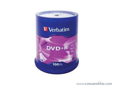 Comprar DVD+R 322455 de Verbatim online.