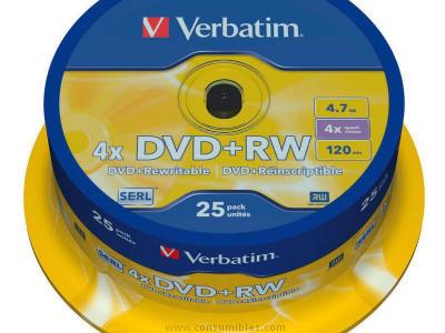 Comprar DVD+RW 322467 de Verbatim online.