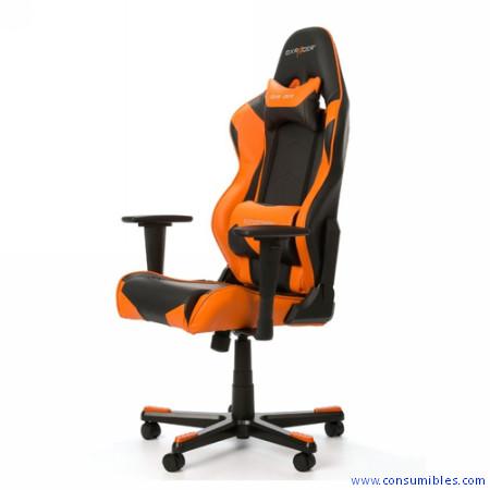 Sillas Gaming SILLA DXRACER R-Series OH/RE0/NO Negra-Naranja